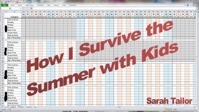 Summer Checklist w Title