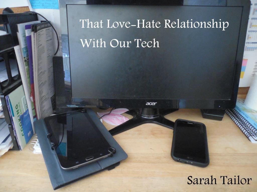 computer, tablet, smartphone